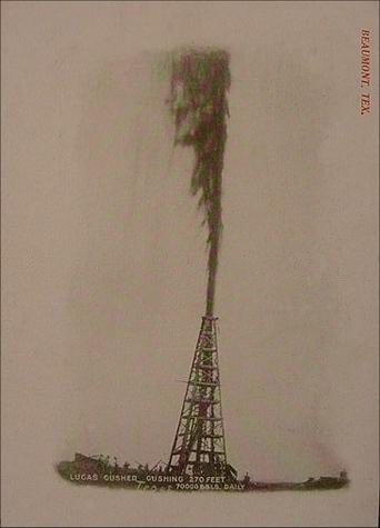 Oil Well GusherOil Well Gusher