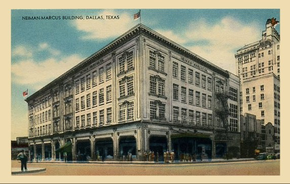 Neiman Marcus flagship store (1914), 1618 Main Street, Dal ...