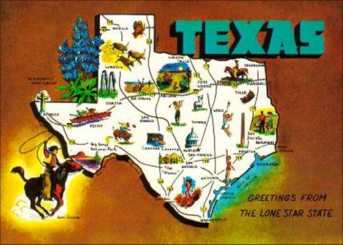 Texas Postcards