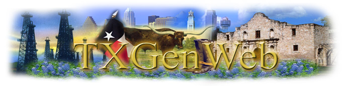 This TXGenWeb site is a member of the USGenWeb Project